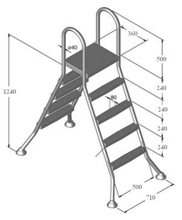 Kerítések, kapuk, korlátok, lépcsőszerkezetek - T-Brass - Medence ...